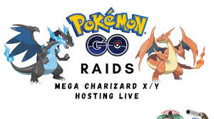 MEGA CHARIZARD Raids (shiny possible) - LIVE - Pokemon Go - Join raids via  discord queue - YouTube