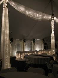best 25 tulle decorations ideas on pinterest tulle, orange Wedding Decoration Ideas Using Tulle this is the lights in tulle thing i was telling you about tulle and lights wedding decoration ideas with tulle