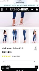 Fashion Nova Jeans Size Chart Fashion Nova Jeans Review Fashion Nova Has Plussize Pink
