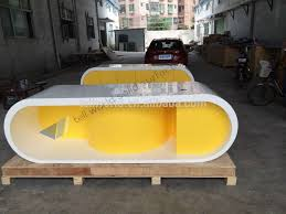 yellow office worktop marble office furniture corian. Interesting Corian Modern Office Executive Secretary Desk Table  Table Suppliers And Manufacturers At Alibabacom Inside Yellow Worktop Marble Furniture Corian