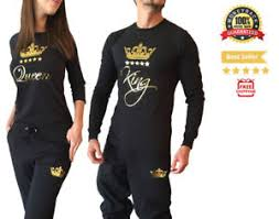 Shirts And Pants Details About Couple Matching Shirts And Pants Set King Queen New Design Pj Anniversary Gift
