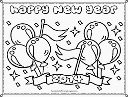 Small Picture Happy New Year Coloring Pages Realistic Coloring Pages New Years