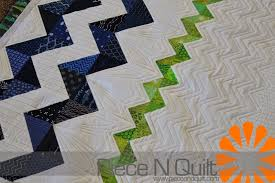 Piece N Quilt: Baby Chevron Quilt & Thanks so much for letting me quilt your adorable quilt Lisa! Adamdwight.com