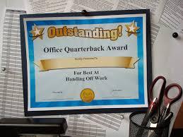 Office Award Funny Award Ideas Funny Office Superlatives