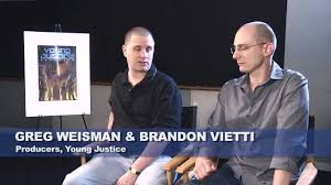 Creative's Commentary: Young Justice - Greg Weisman and Brandon Vietti -  YouTube