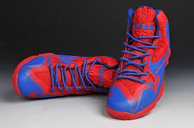 lebron shoes superman. nike lebron 11 nikeid blue red 130308-002 lebron shoes superman
