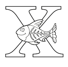 New free coloring pages stay creative at home with our latest. Letter X Coloring Page Etsy