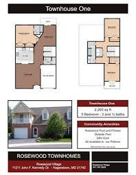 Town Home 1. $1,315  To $1,360; 3 Beds ...