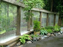 garden water features awesome outdoor design ideas in wall water features prepare modern outdoor wall water features