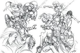 Disegni Da Colorare E Stampare Gratis Avengers Coloradisegni