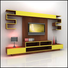 wood tv stand ideas. creative yellow tv stand ideas wood d
