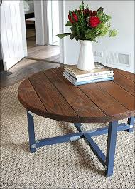 diy small round end table 9 diy round coffee table plans inspiration