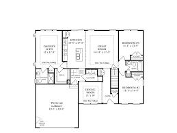 44 elegant 2 bedroom house plans with basement