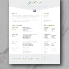 Resume Template Cv Template Adobe Indesign Cv Design Marketing Creative Graphic Design Resume Template Modern Instant Download