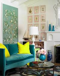 How To Hang Artwork In Your Home The On Center Rule  Marble Chinoiserie Living Room