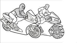 200+ Tô màu xe máy cho bé cá tính mạnh - Tranh Tô Màu cho bé
