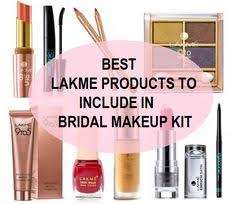 best lakme s to include in bridal makeup kit