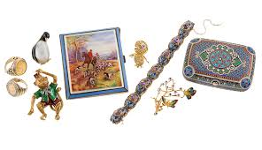 antique estate jewelry dealer collection