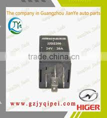 yk5 37m60 50001 jjd2200 24v 20a higer bus wiper motor intermittent controller relay
