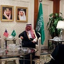 السفير السعودي لدى الولايات المتحدة خالد بن سلمان يعود إلى مكتبه في واشنطن