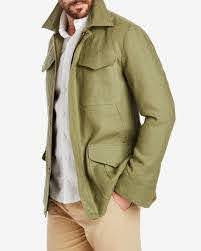 The Linen Field Jacket by Private White ...