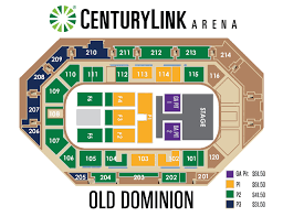 Taco Bell Arena Seating Chart Best Of Old Dominion