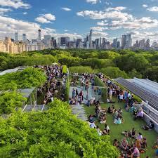 roof garden martini bar at the metropolitan museum of art
