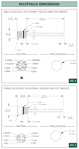 brad harrison woodhead s micro change cordsets single mechanical
