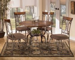ashley furniture kitchen table and chairs inspirational plentywood 5 piece round dining table set by signature design by