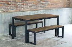 industrial dining table chairs. rustic wood industrial dining table set uk decor look loft piece chairs