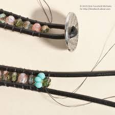 leather bead wrap bracelet diy