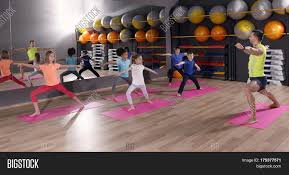 Powerpoint Template Gymnastique Children At Physical Education