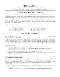 Pharmaceutical Sales Resume Example How To Write A Executive