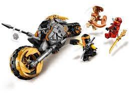 LEGO Ninjago 70672 Cole's crossmotor - Jan's Steen