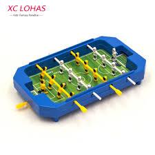 Miniature Wooden Foosball Table Game Mini Desktop Plastic Foosball Board Table Football Toy Children 36