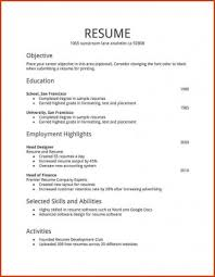 Resume Format For Job In Word Unique Resume Format Word Luxury Best Cv Document Of For Stupendous