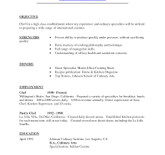 Demi Chef De Partie Resume Sample Unforgettable Resume Format For Chefe Templates Sample Cv Demi 12