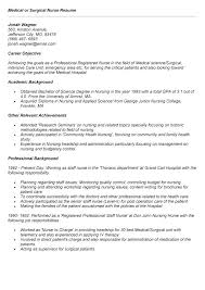 Med Surg Nurse Resume Resume Templates Med Surg Nurse Resume Image #3015