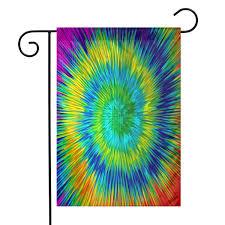 Designer Garden Flags Amazon Com Dizzy Color Swirl Designs Seasonal Garden Flags
