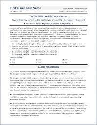 Executive Resume Template Word Executive Resume Template Word Resume For Study 51