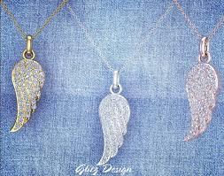 0 47 ct tw angel wing diamond pendant