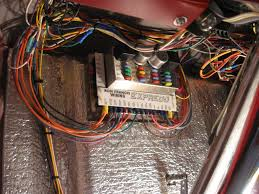 hot rods wiring harness your experiences page the h a m b ron francis fuse panel