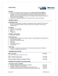 Sql Server Developer Resume Examples Database Management Resume Best Sample Sql Server Developer Resume 11