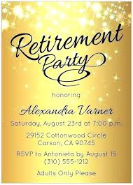 Party Invitation Template Word Free Free Military Retirement Invitation Template