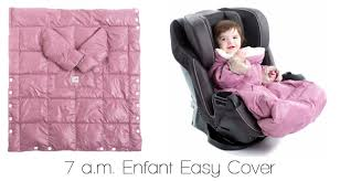 keeping babies warm in the car seat