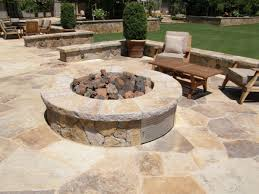 others inspiring flagstone patio fire pit with rectangular wood