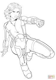 Small Picture Black Widow Avengers Coloring Pages Coloring Coloring Pages