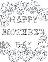 Printable coloring pages for mothers day. Free Printable Mother S Day Coloring Pages 4 Designs