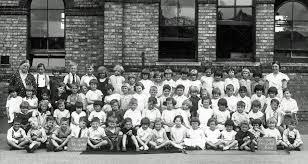 Class Photo - St Annes School 1933 - Porch Museum Godmanchester