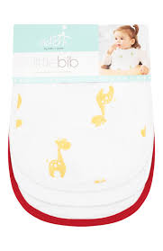 <b>Нагрудники Little</b> bib <b>ADEN</b>+<b>ANAIS</b> белого цвета — купить за ...